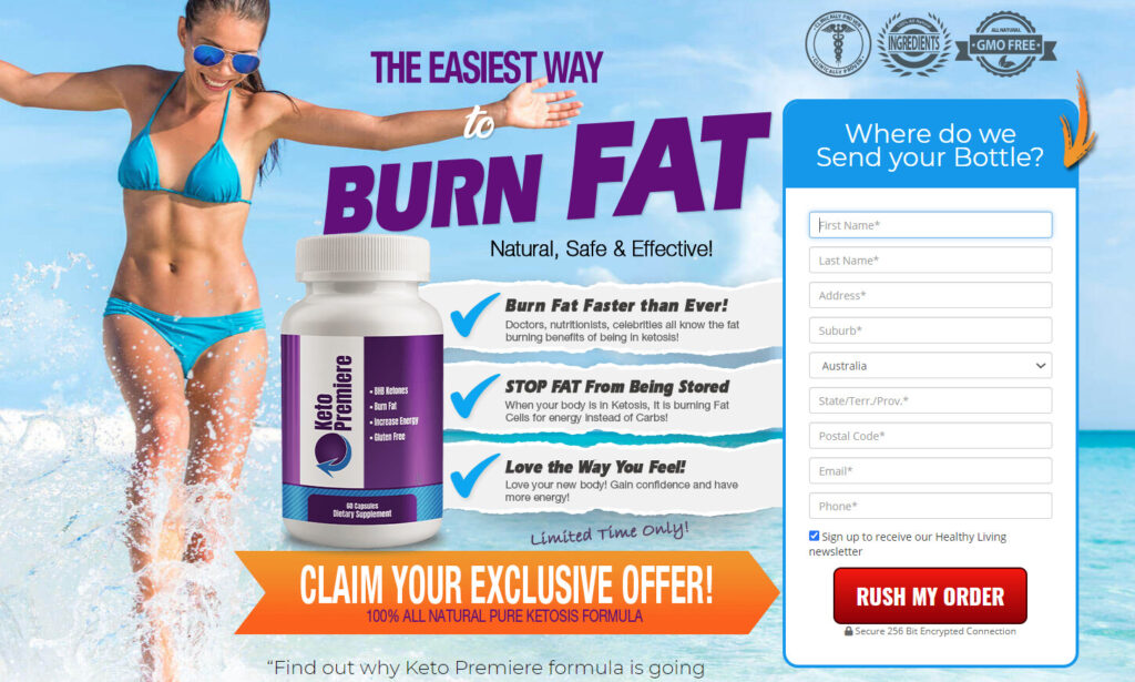 Keto Premiere ZA Shed Your Body With Magic Steps Burn Fat