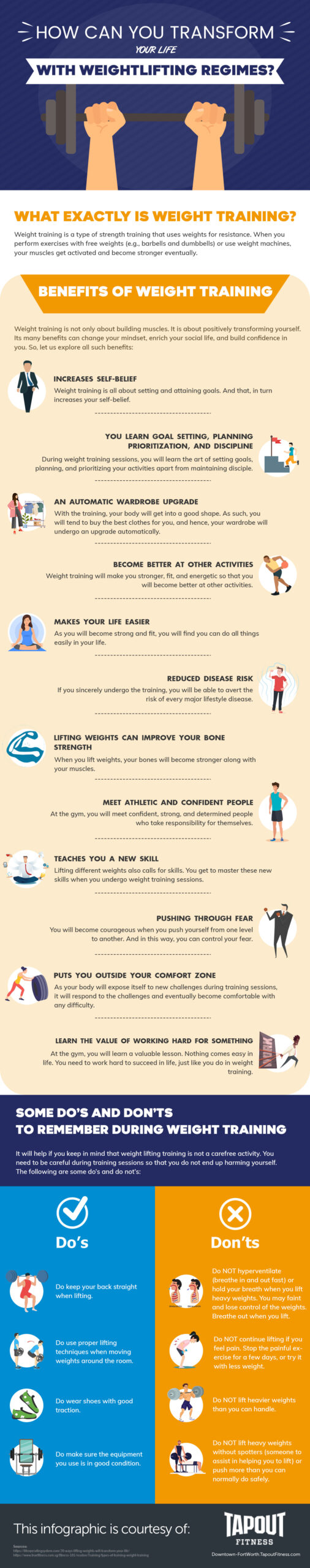 Transform-Life-with-Weightlifting-Infographic