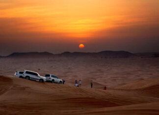 Dubai desert safari exercises