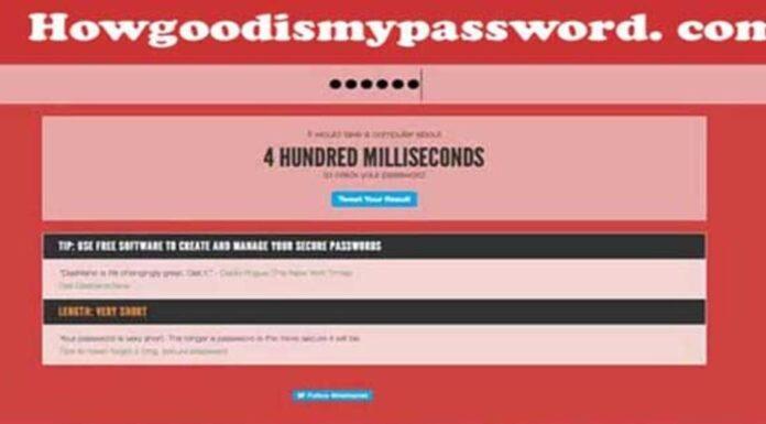 howgoodismypassword