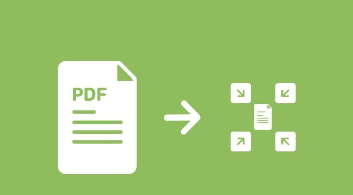 compress PDF file online
