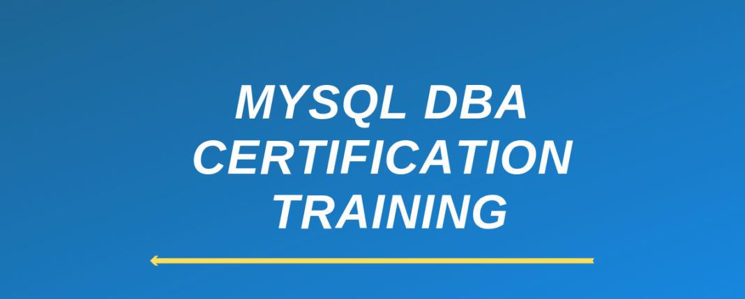 Why should you choose Online MySQL DBA course?