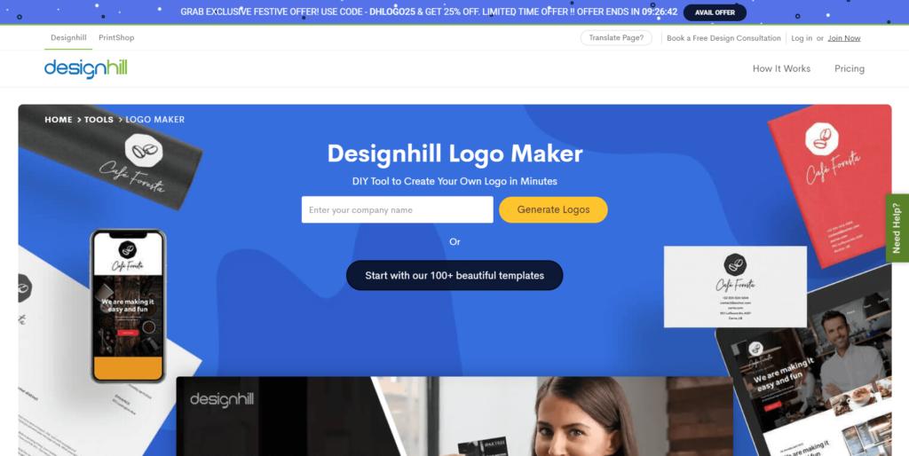 design hill logo maker
