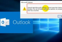 Microsoft Outlook & Its errors
