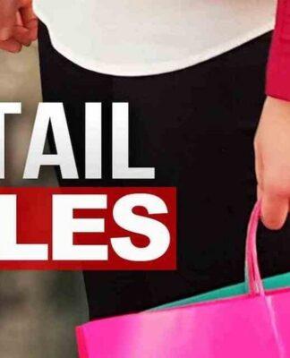 retail sale increase
