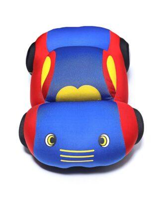 Human Shape, Blue and Custom Car Pillow