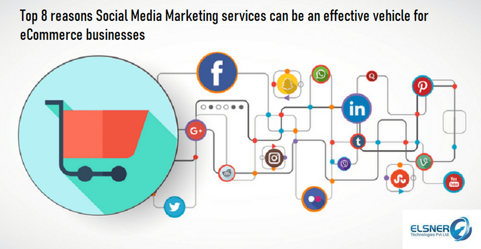Top 8 reasons Social Media Marketing services can be an effective vehicle for eCommerce businesses