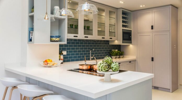 Benefits of Kitchen Design with Mini Bar Concept