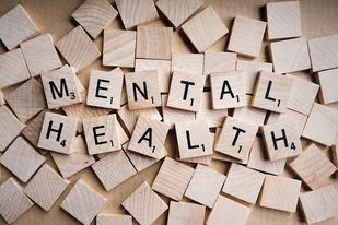 How is fiction related to mental health