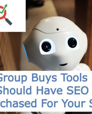 SEO Group Buys Tools