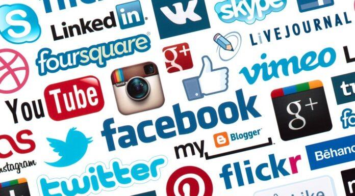 surfing social media sites