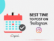 post time on instagram