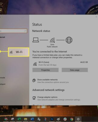 networks in Windows