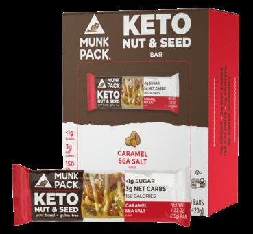 Healthy Keto Snack Bars