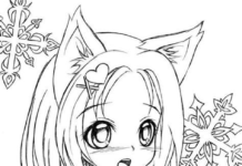 Free printable Gacha life coloring pages without spending any money.